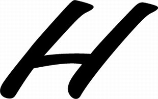 Font bc uppercase h behounek casual uppercase alphabets font bc uppercase h altavistaventures Image collections