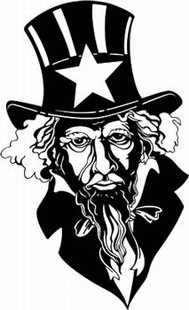 Uncle Sam DECAL 3