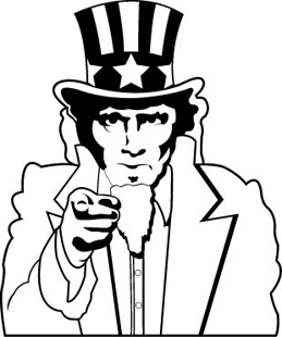 Uncle Sam DECAL 1