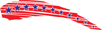 stars and stripes decal 96