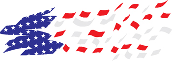 stars and stripes decal 98