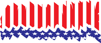 stars and stripes decal 137