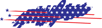 stars and stripes decal 130
