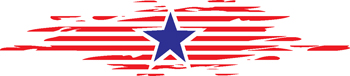 stars and stripes decal 236