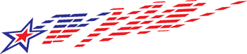 stars and stripes decal 263
