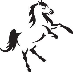 Horse decal 01