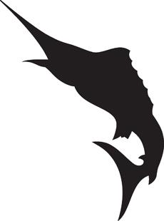 Marlin decal