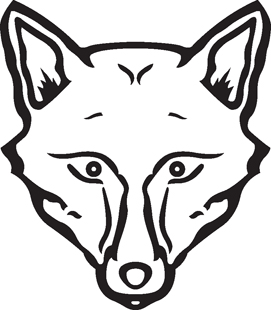 Wolf Head Decal