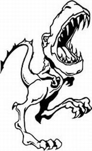 Raptor decal