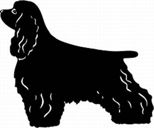 Cocker Spaniel Decal