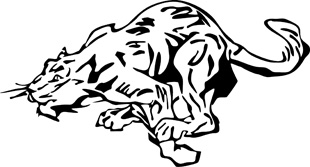 Tribal tiger decal 3