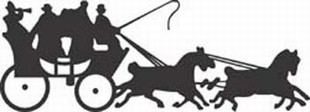 Horse and Carriage decal