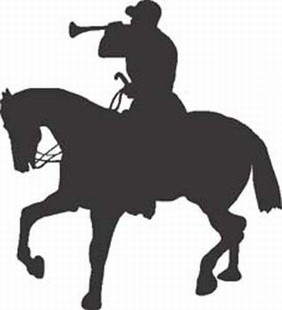 Equastrian horse decal