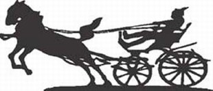 Chariot Racing horse decal