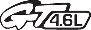 GT4 4.6L DECAL