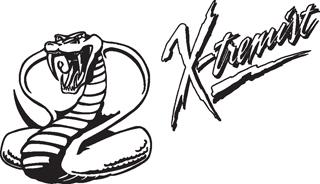 X-tremist cobra decal