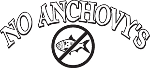 No Anchovy's