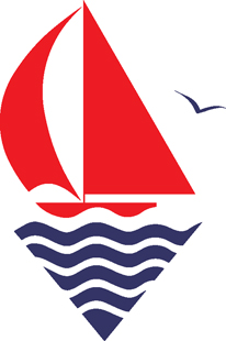 Sailboat decal