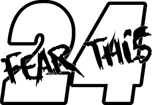 Fear This 24 decal
