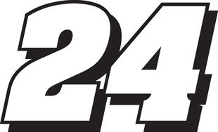 Nascar 24 decal