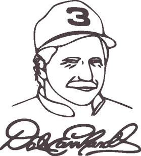 Dale Face decal