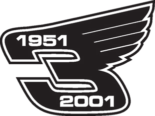 Dale Earnhardt Wings decal