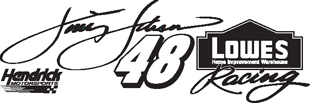 Jimmie Johnson decal