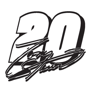 Tony Stewart 20 decal