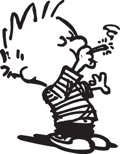 Calvin Toking decal