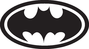 Batman Symbol decal