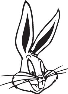 Bugs Bunny decal