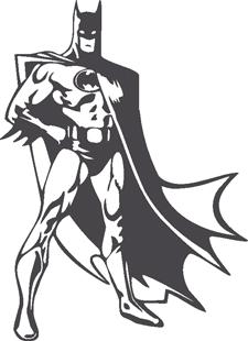 Batman decal 2