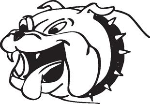 Bulldog decal 2