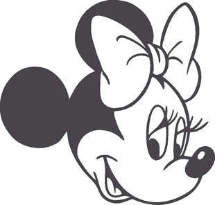Minnie Mouse decal