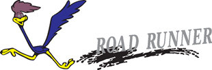 Roadrunner decal C