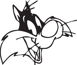 Sylvester the Cat Head