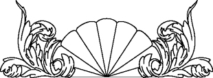 Shell Fan Pattern 6