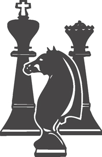 chess figures decal