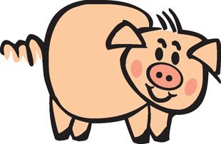 Piggy decal 1