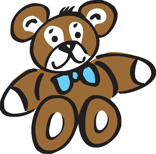 Teddy Bear decal 1