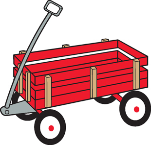 Red Wagon decal 1