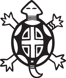 Turtle Southwest Graphics Native American Indian