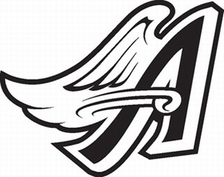Anaheim Angels decal 1