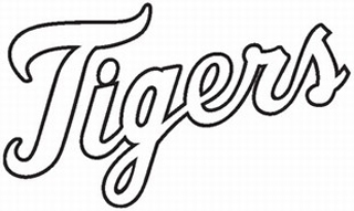 Detroit Tigers decal b2