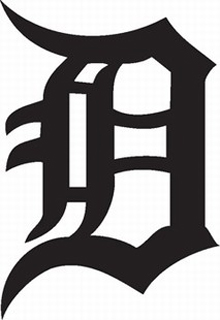Detroit Tigers decal b