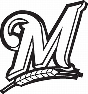 milwaukee brewers vinyl decal Bernie Brewer Coloring Page  Brewers Coloring Pages
