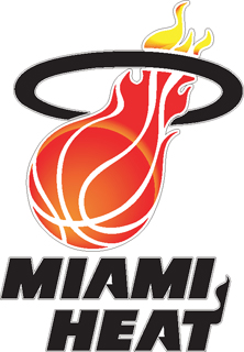 Miami Heat Decal 96