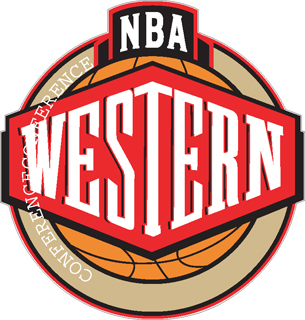 NBA Western Conference decal