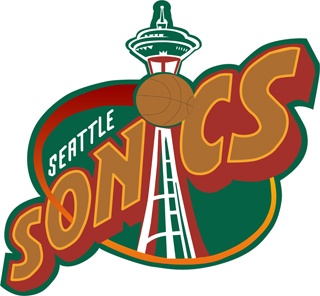 Seatle Sonics decal