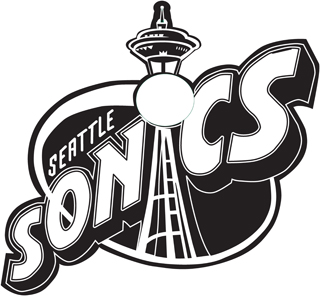 Seatle Sonics decal 00